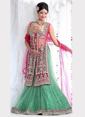 Fish tail bridal lehenga and choli l bridal lehenga choli dresses l