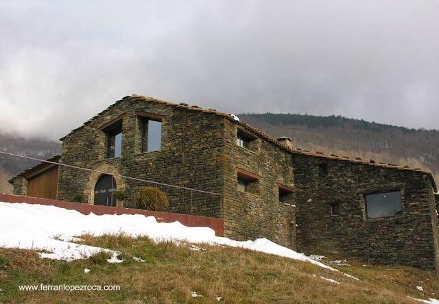 Masía en Vilallonga de Ter, Girona, España