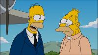 Los Simpsons- Capitulo 20 - Temporada 26 - Audio Latino - El abuelo piloto