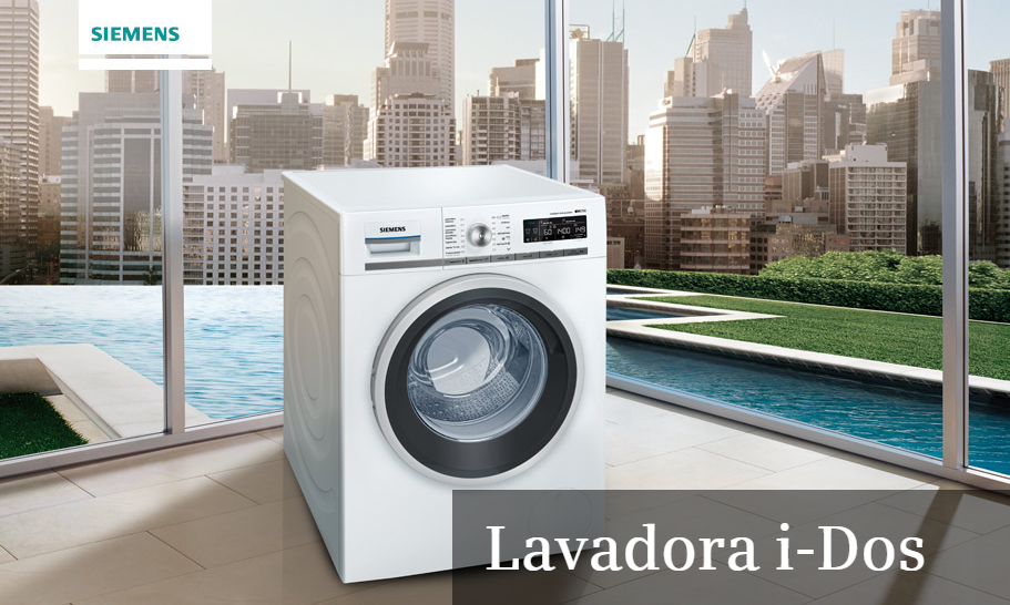 lavadora inteligente i dos de siemens cocinas ricardo. Black Bedroom Furniture Sets. Home Design Ideas