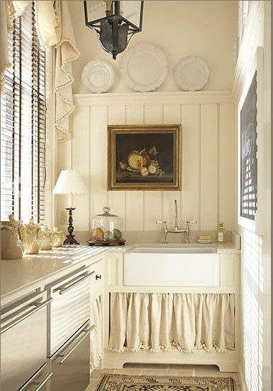 Vintage cottage kitchen inspirations french country for Cottage kitchen designs