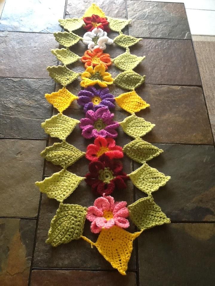 Bisutria y manualidades de diana tapete con flores de - Diana de colores ...
