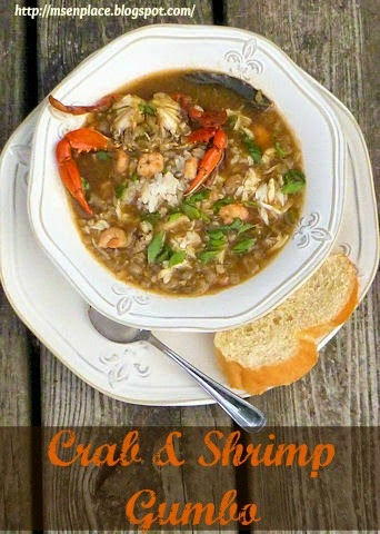 Crab & Shrimp Gumbo | Ms. enPlace