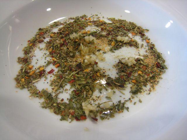 Spirals & Spatulas: Olive Oil & Herb Bread Dip