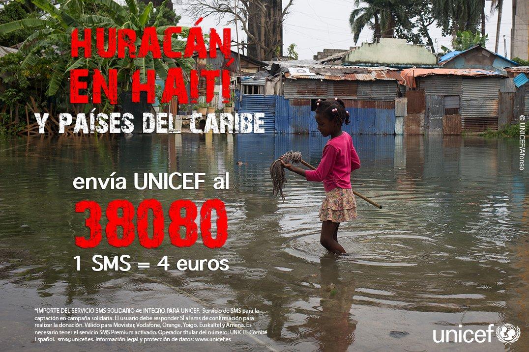 Ayuda a Haití con un SMS