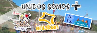 Movimiento Ju.Es Zaragoza formado por Almadia, Zingla y Entalban