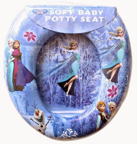 Kado ulang tahun berupa potty seat cantik