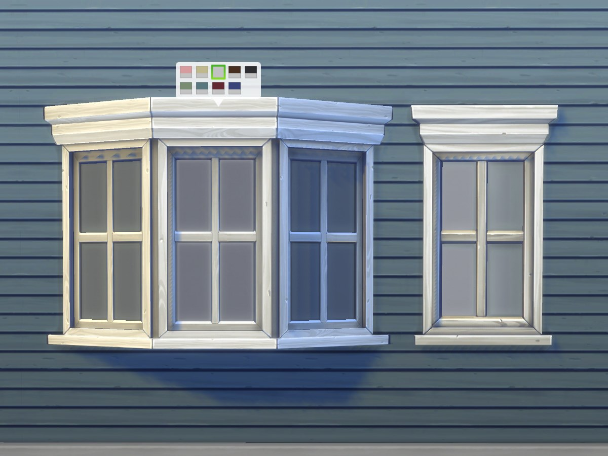 My Sims 4 Blog Casement Bay Window By Plasticbox Mts