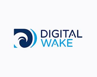 9. Digital Wake Logo