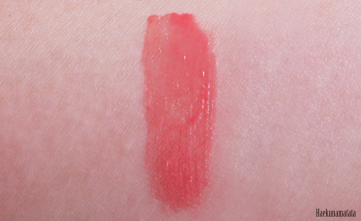 YSL Vernis A Levres Glossy Stain #12 Coral Fauve Swatch and Review3