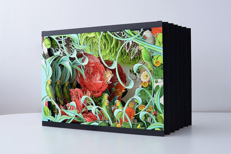 Imaginario arte emergente lleno de naturaleza de Bozka