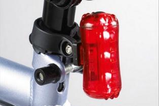 Zestaw lampek rowerowych, oświetlenie rowerowe Biedronka