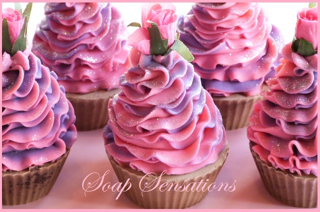 How To Make Cupcake Soap