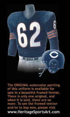 Chicago Bears 1963 uniform