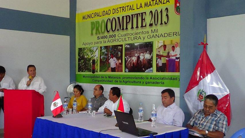 Remurpi Municipalidad Distrital De La Matanza Lanza