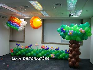 Decoração com Balão - Bexiga