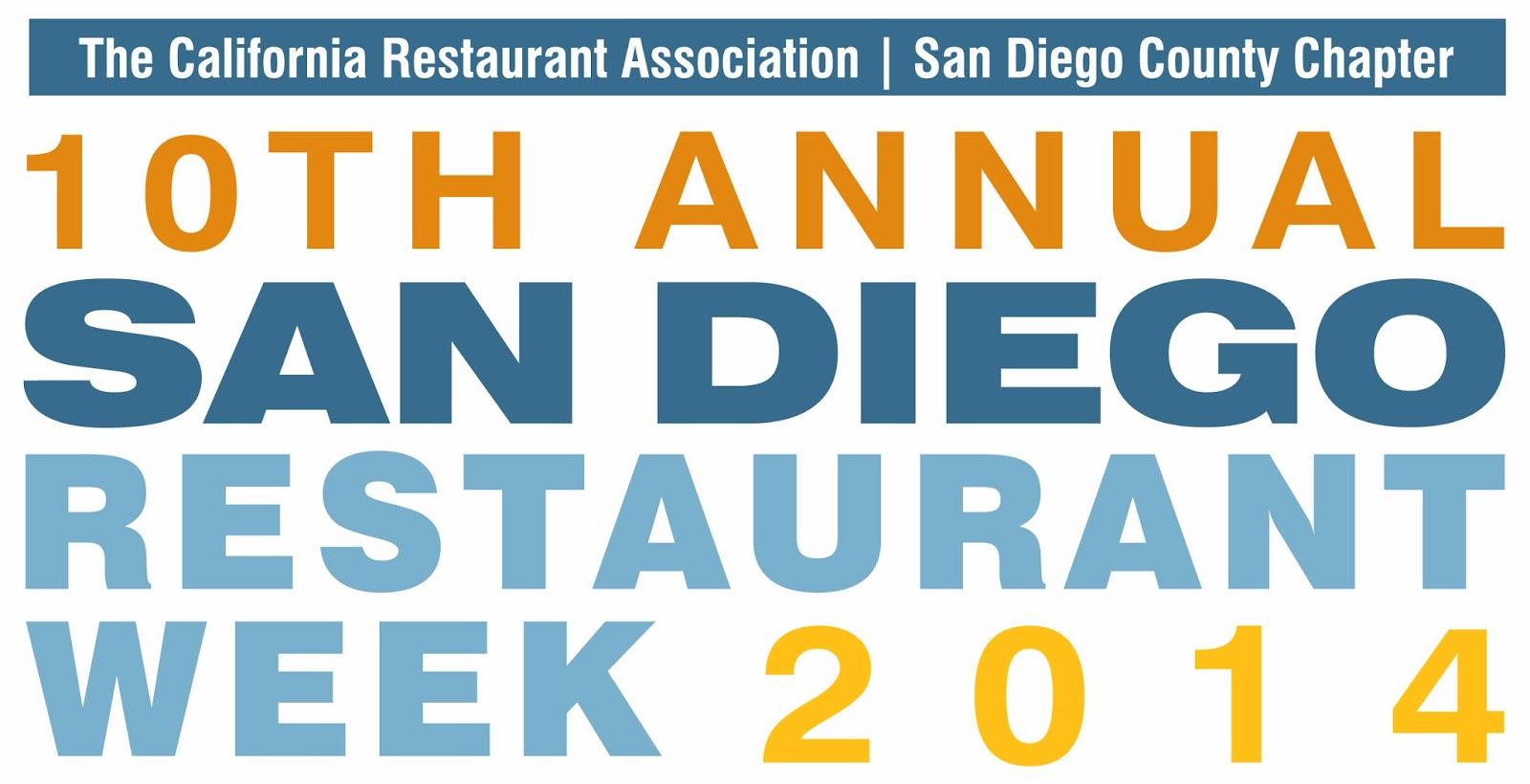 SanDiegoVille: San Diego Restaurant Week Celebrates 10 Years in 2014 ...