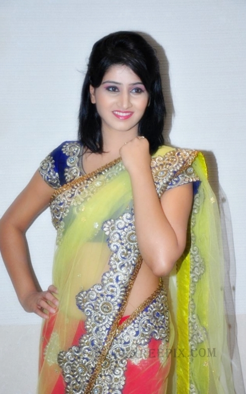 Shamili agarwal in saree at Desire exhibition