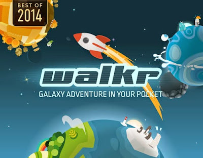 Walkr - Galaxy Adventure in Your Pocket by Fourdesire