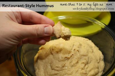 Restaurant-Style Hummus