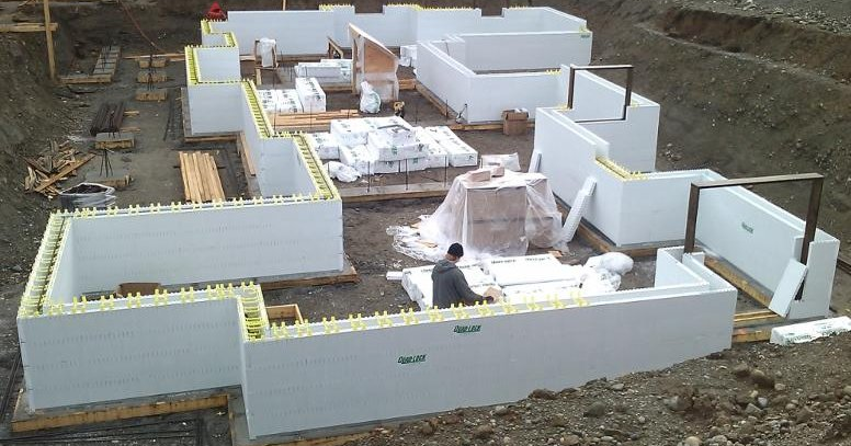 Icf for Insulated concrete forms basement