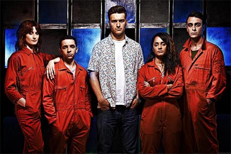 Misfits reparto para la quinta temporada