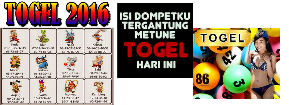Data Togel 2016 Rabu 26 April 2017