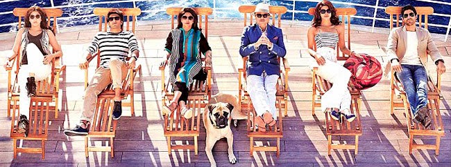 First look of Zoya's Akhtar next film - Dil Dhadakne Do