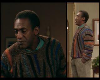 Cosby Show Huxtable fashion blog 80s sitcom Cliff Bill Cosby sweater