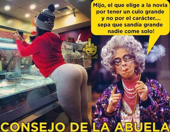 Memes Consejo de la abuela