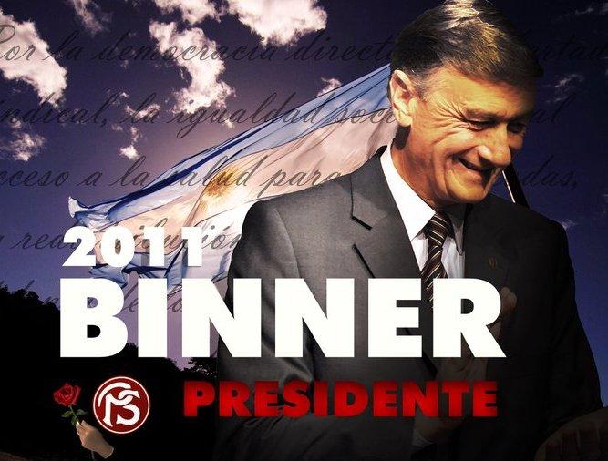 HERMES BINNER 2011 - PRESIDENTE
