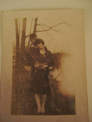 Climbing My family Tree, Wordless Wednesday: Clarence Snyder & Mabel Erwin 1927