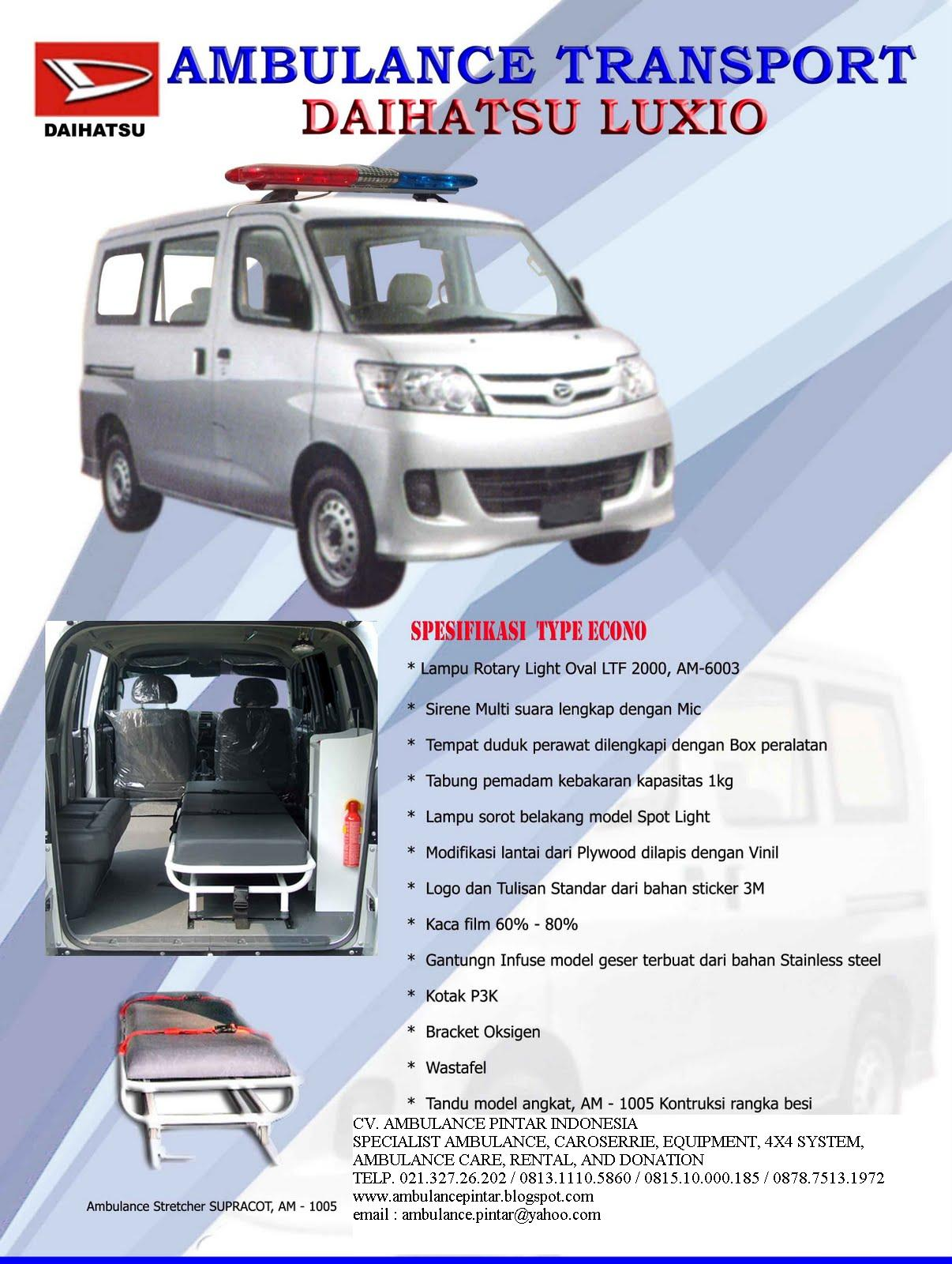 Mobil Ambulance Januari 2012 Kotak P3k Deluxe