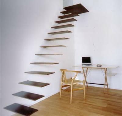 Gambar Model Tangga Kayu Rumah Minimalis