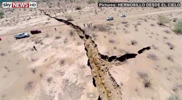 Μεγάλης έκτασης γεωλογικό φαινόμενο αναστατώνει την Αμερική