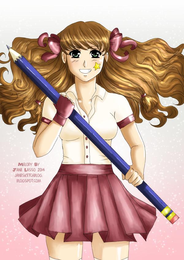 Dibujo de Melody
