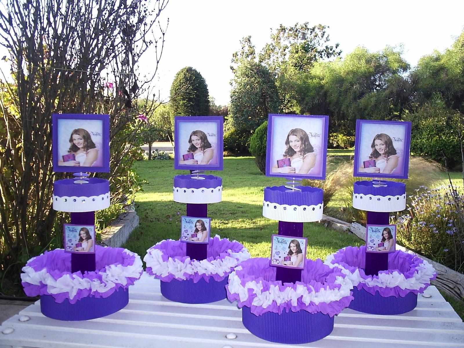 Violetta cumplea os con violetta - Ideas para fiesta 40 cumpleanos ...