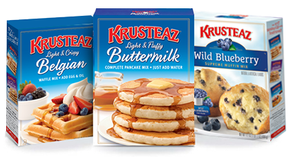 Krusteaz mixes