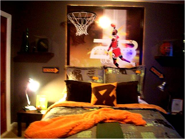 Basketball bedroom decorations images frompo 1 - Comely pictures of basketball themed bedroom decoration ideas ...