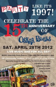 Oskar Blues 15th Anniversary