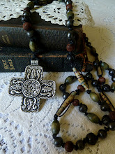 Large Hand Knotted Rosary...
