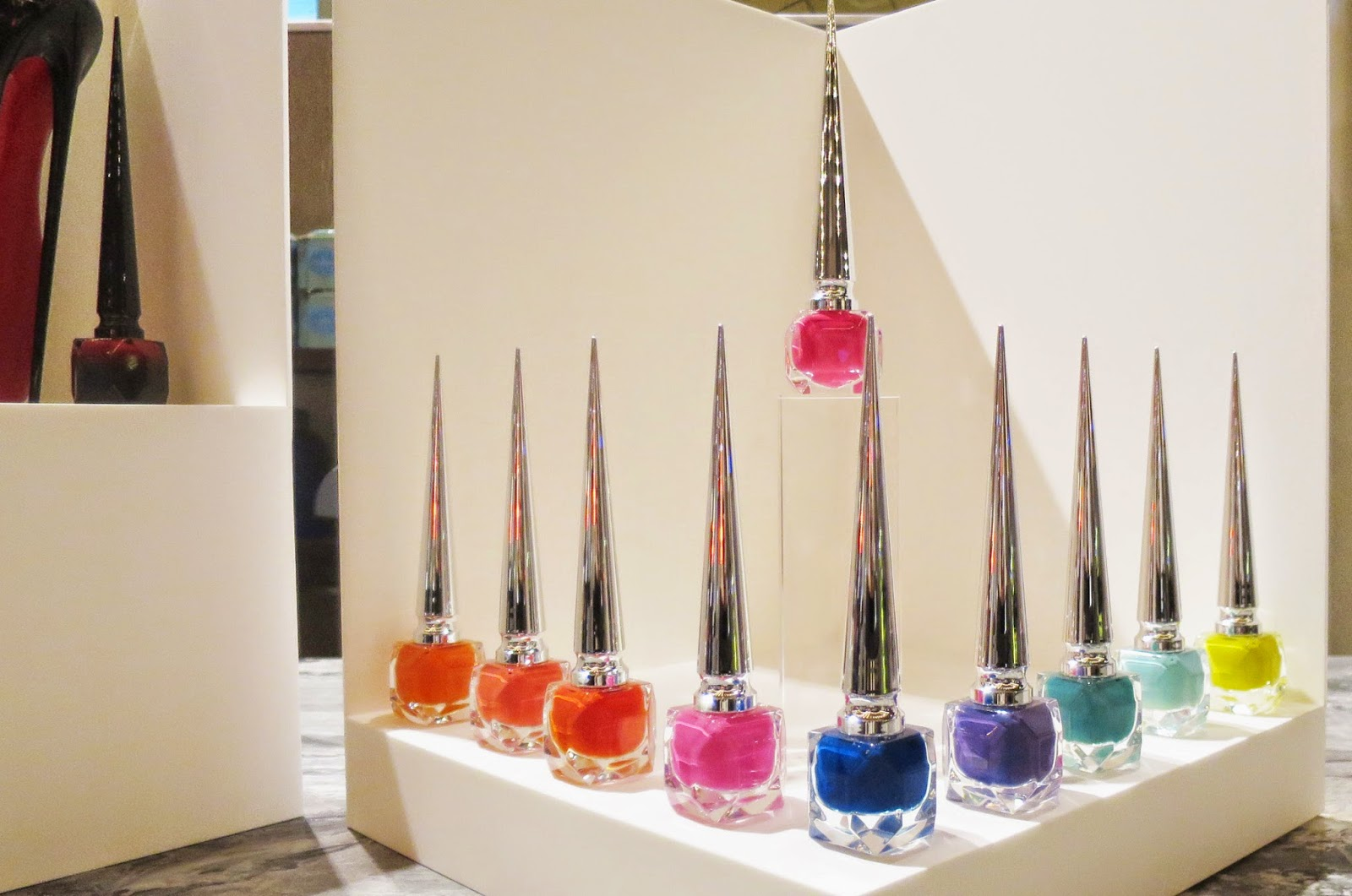 Christian Louboutin Popup Display