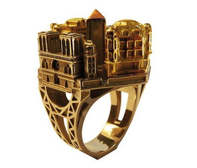 City And Building Shape Beautiful, Creative And Stylish Ring Collection