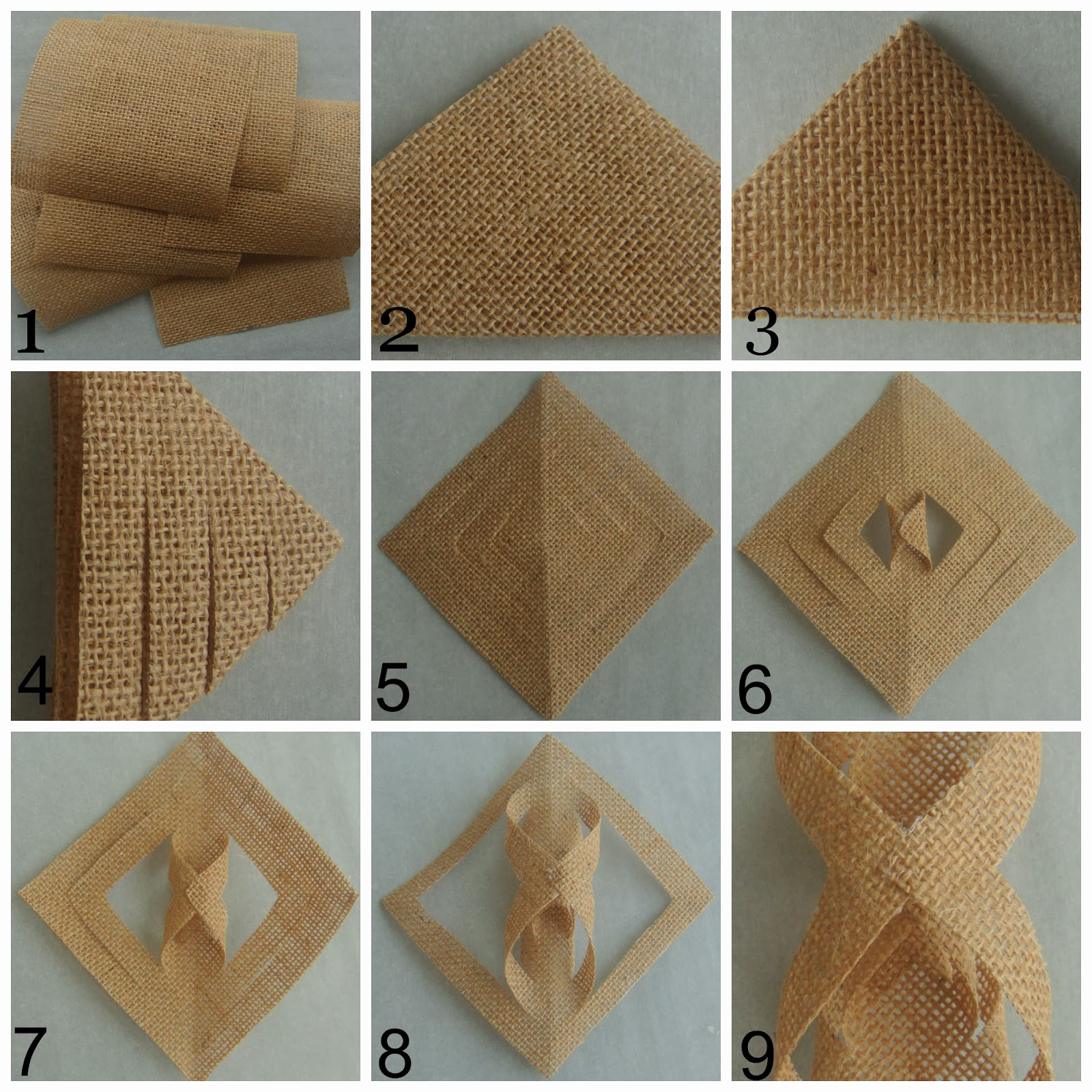 Crafting diy projects decorating for Burlap crafts