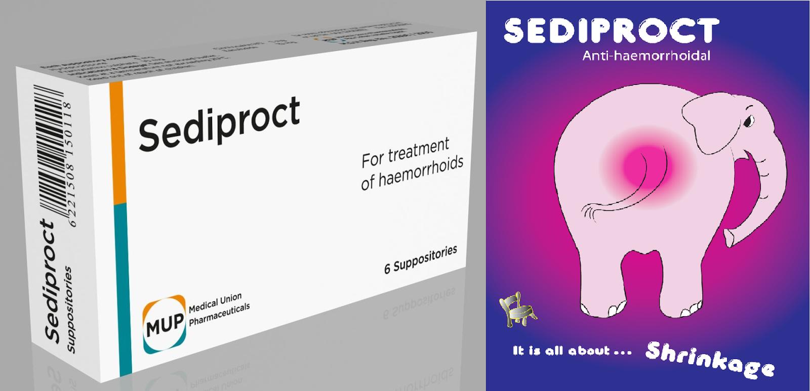Sediproct,سيديبروكت,بواسير,شرخ,fissure,anal,hemorrhoids,