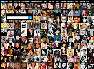 videos musicales de cantantes de: