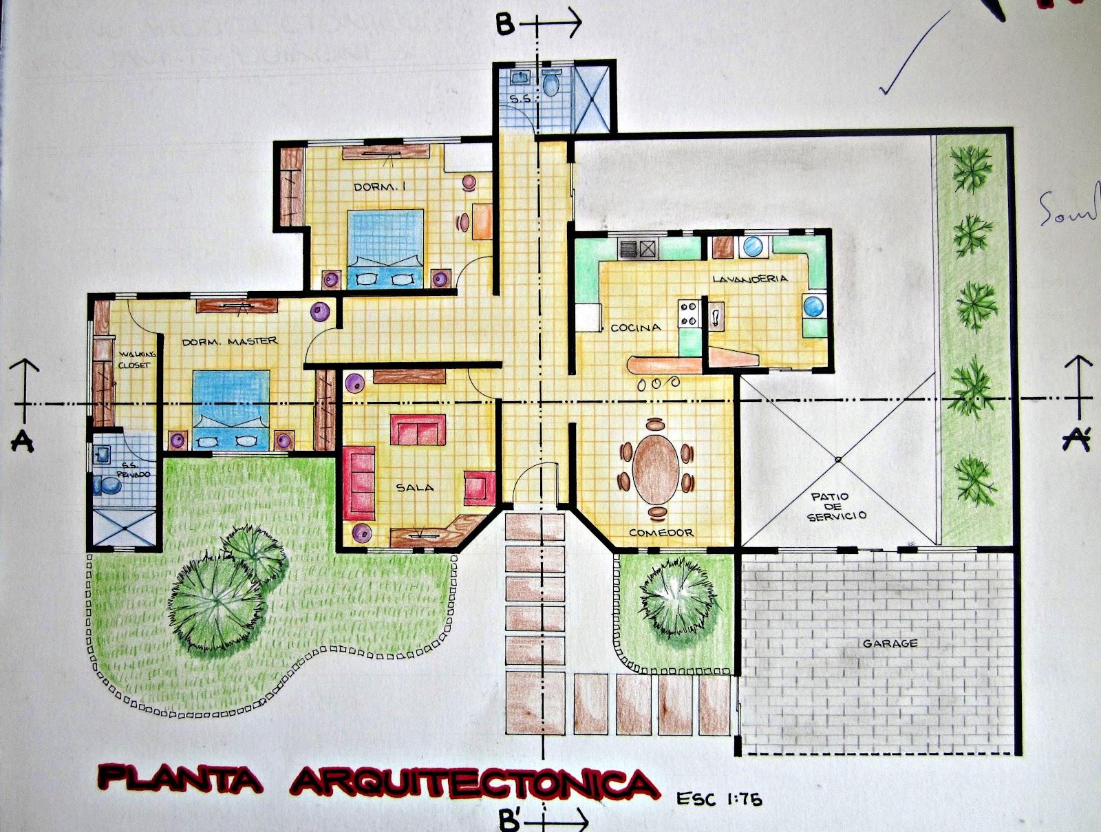 Portafolio dise o arquitect nico dise o arquitectonico 1 for Antropometria de la vivienda