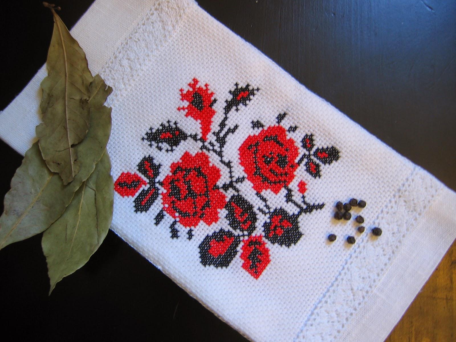 Брокаровская вышивка