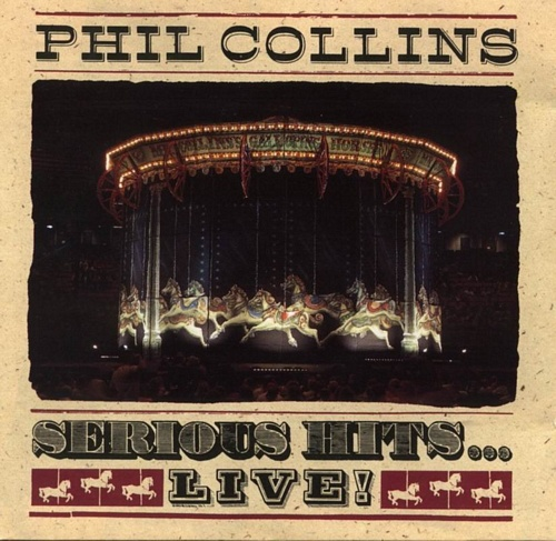 Phil Collins Serious Hits Live CD Capa