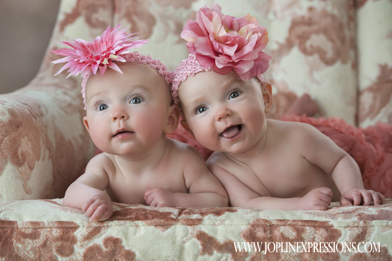 Emery & Kinley -adorable baby girl twins- » Joplin Expressions